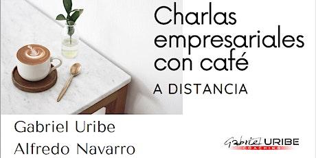 Charlas empresariales con café a distancia entradas