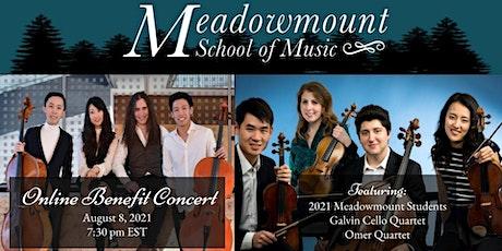 Meadowmount Online Benefit Concert tickets