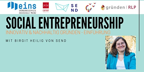 Social Entrepreneurship  Innovativ & nachhaltig gründen – Einführung Tickets