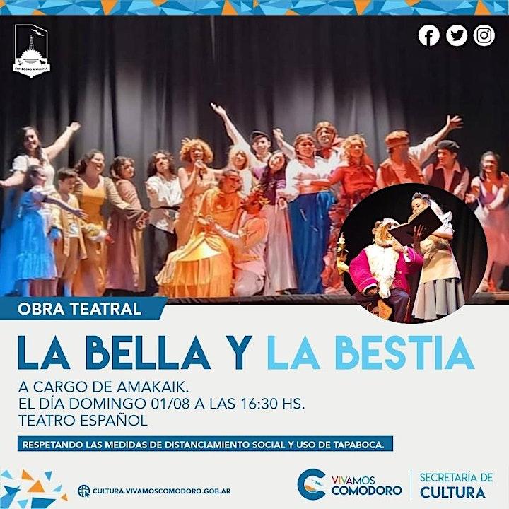 """Imagen de Obra teatral - """"La bella y la bestia"""""""
