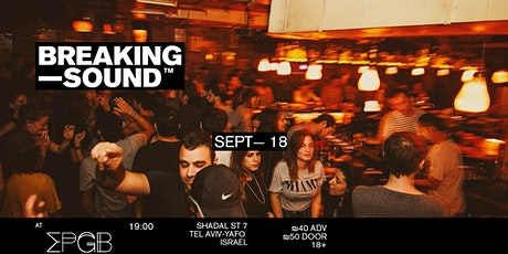 Breaking Sound Tel Aviv feat. Borito, BUBU tickets