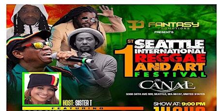 1st Annual Seattle International Reggae and Arts Festival tickets