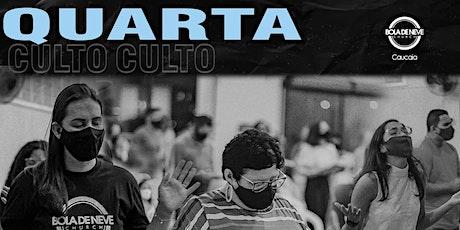 Culto Presencial de Quarta - 04/08 ingressos