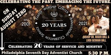 FWC's 20th Anniversary Celebration & Ball Family Pastoral Appreciation tickets