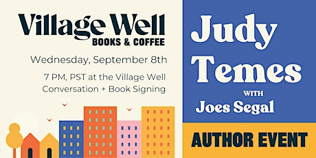 Conversation with author Judy Temes tickets