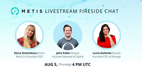 Metis Future of Work Livestream Fireside Chat tickets