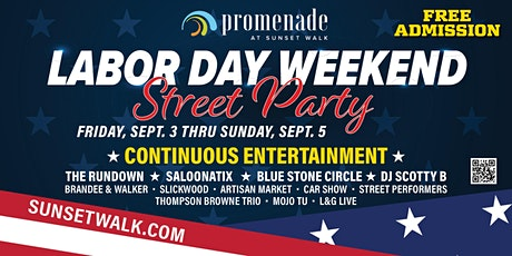 Labor Day Weekend Street Party tickets