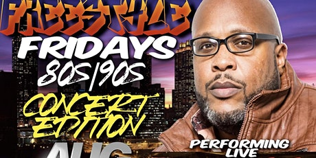 Freestyle Fridays Presents: 80s/90s Concert Edition tickets