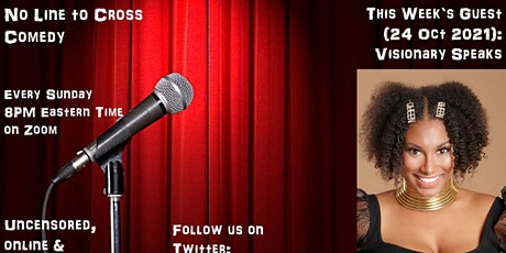 No Line to Cross Comedy (24 October 2021) tickets