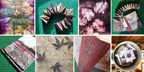 Eco-print, Dye & Stitch: a creative workshop online tickets