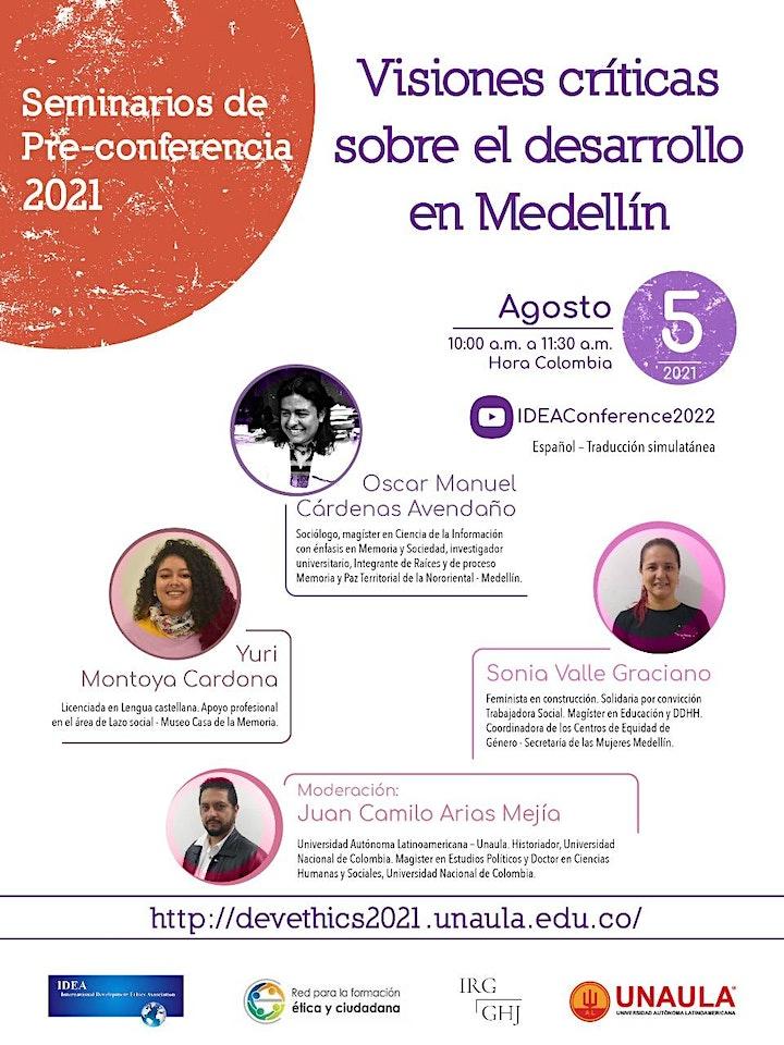 Ética, desarrollo y paz / Ethics, development & peace in Medellín, Colombia image