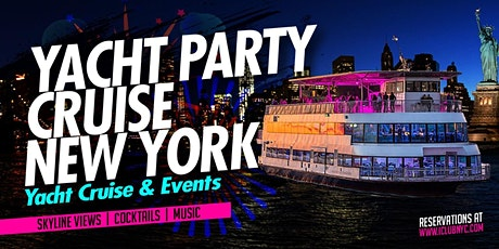 8/20 YACHT PARTY CRUISE  NEW YORK CITY VIEWS  OF STATUE OF LIBERTY tickets