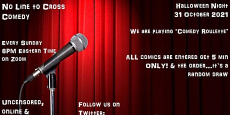 No Line to Cross Comedy (31 October 2021) tickets