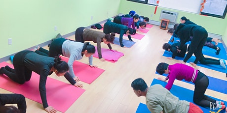 Relaxation yoga at Wong Nutrition tickets