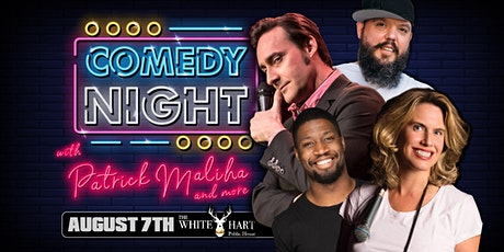 Live Comedy Night featuring Patrick Maliha at the White Hart Pub (Surrey) tickets