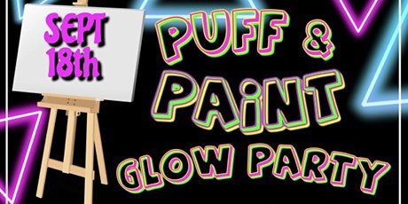 Glow in the Dark Puff and Paint tickets