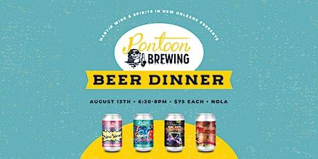 Pontoon Brewing Beer Dinner tickets