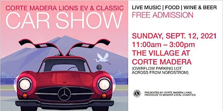 Corte Madera Lions EV and Classic Car Show tickets