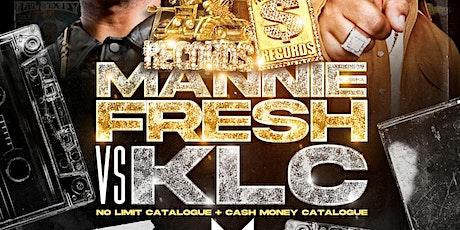 MANNIE FRESH VS. KLC LIVE @ THE METROPOLITAN ( SUNDAY SEPTEMBER 5TH, 2021) tickets