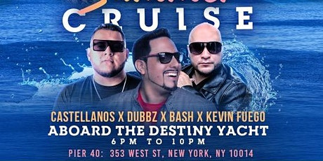 Latin & hiphop Summer Sunset yacht party tickets