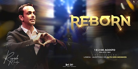 REBORN com Ricardo Mendoza bilhetes