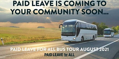 Paid Leave for All Bus Tour Stop: Richmond, VA tickets