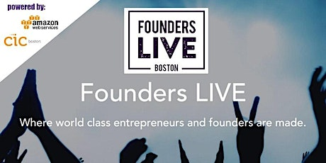 October VIRTUAL Founders Live Boston Startup Pitch Event. tickets