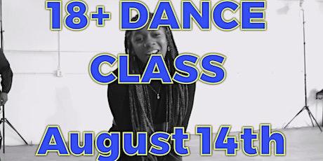 18+ Dance Class tickets