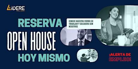 Open House ONLINE - Lidere Asociados boletos