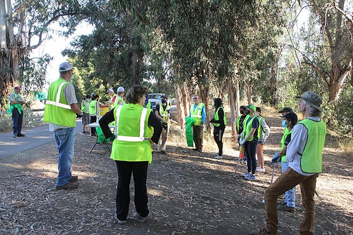 Mid - Week Cleanup on Guadalupe River at West Virginia Street image