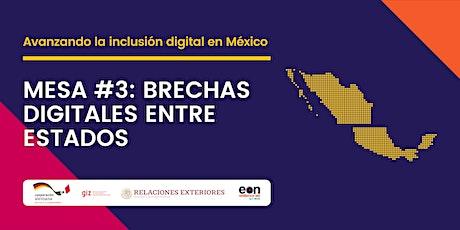 Mesa #3: Brechas digitales entre estados tickets