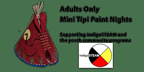 Mini Tipi Paint Night - Cold Garden Beverage Company, Inglewood, Calgary tickets