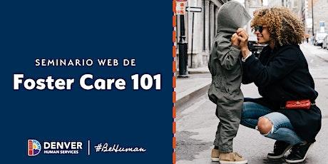 Seminario web de  Foster Care 101 (en español) entradas