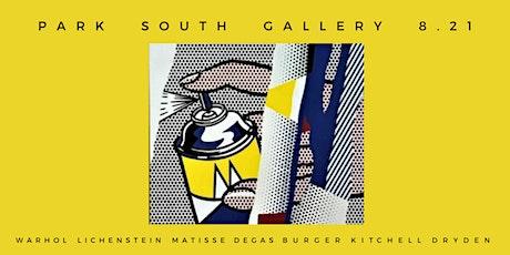 Art Gallery Opening Reception With Matisse, Warhol, Kitchell, Lichenstein tickets