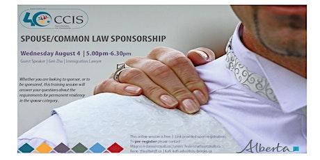 Spouse/Common Law Sponsorship tickets