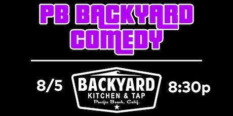 PBBackyardComedy @ Backyard tickets