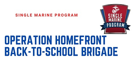SM&SP Operation Home Front: Back-To-School Brigade Volunteer Opportunity tickets