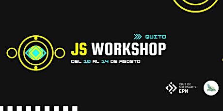 JS Workshop | Semana de JavaScript boletos