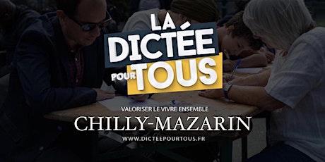 La dictée pour tous à Chilly-Mazarin billets
