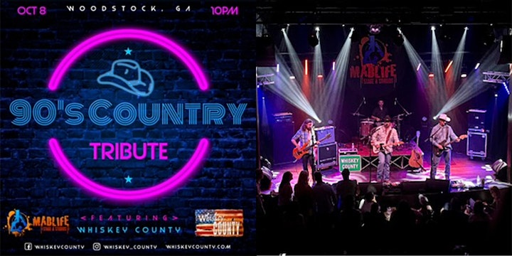 Whiskey County - 90's Country Tribute image