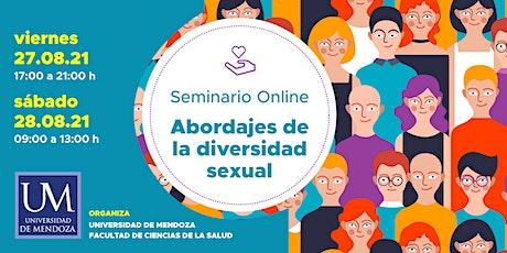 Seminario online -  Abordajes de la diversidad sexual entradas