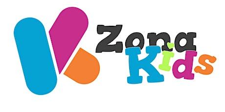 Domingo  01/08 - Encuentro Zona Kids - 3 a 9 años entradas