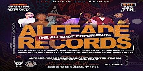 AlFeAde Launch Party tickets