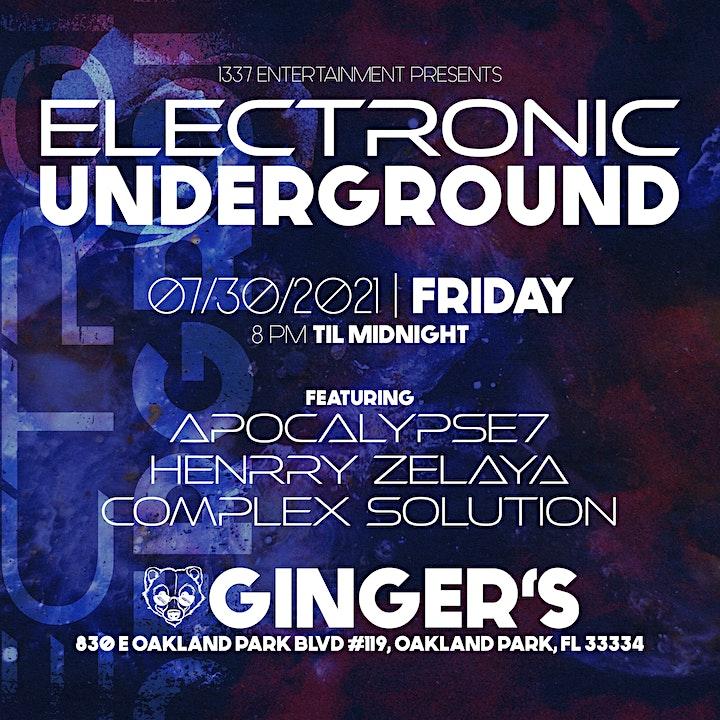 Electronic Underground image