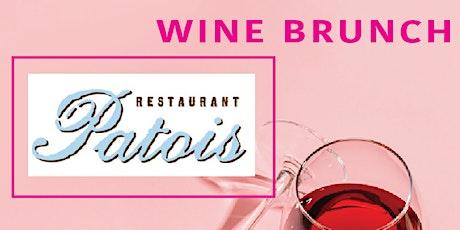 Patois & Picayune Cellars, Wine Brunch tickets