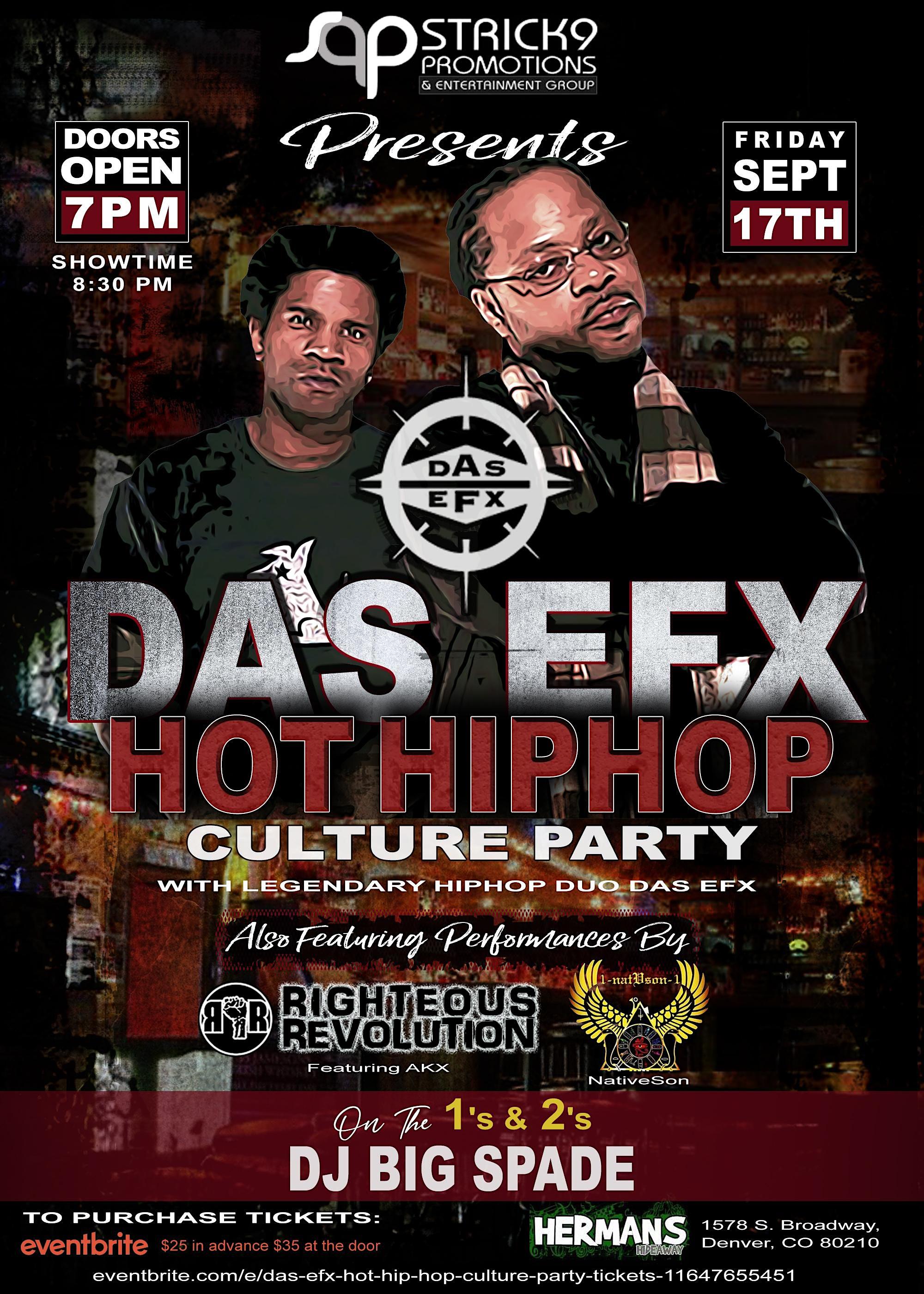 DAS EFX  (Hot Hip Hop Culture Party)