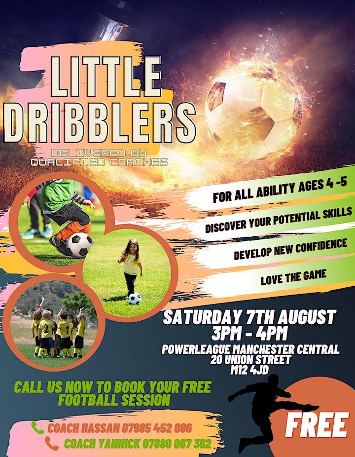 Little Dribblers Football 4's & 5's image