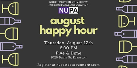NUPA August Happy Hour tickets