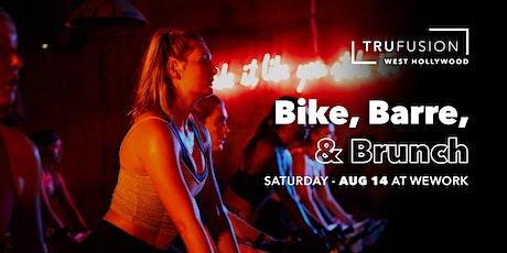 Bike, Barre, & Brunch tickets