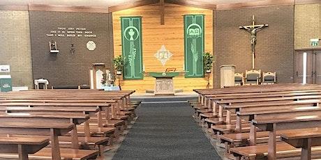 Holy Mass - Week Ending 08/08 tickets